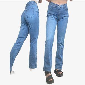 Vintage Skinny to Flare Jeans
